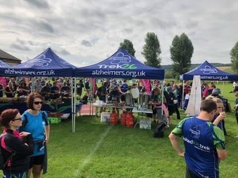 Alzheimer Society 13 mile Trek