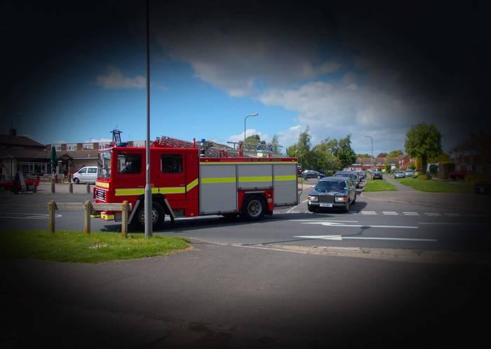 Fire Engine Hearse