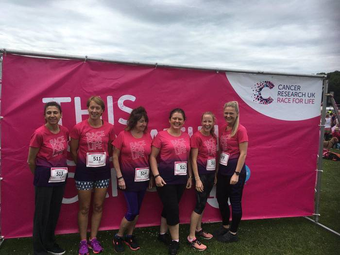 Race For Life Fundraising